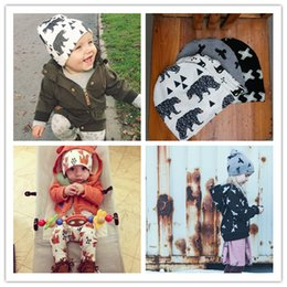Wholesale Wholesale Sunny Baby - Ins hot selling children flower sun hats whosale sunny baby sunbonnet infant toddlers leisure bucket caps