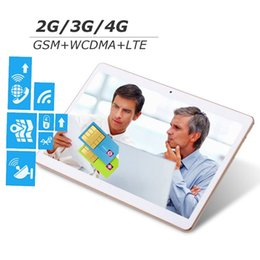 Wholesale G Lenovo - Lenovo 4G LTE 9.7 inch Tablets PC 8 core Octa Cores 2560X1600 3G Tablet PC 2GB ram 16GB 4G sim card Wcdma GSM Android 4.4