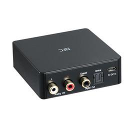 Wholesale Optical Audio Coaxial - NFC Bluetooth 4.0 Audio Receiver CSR DAC Aptx Wireless Digital Music Receiver RCA optical output Coaxial SPDIF