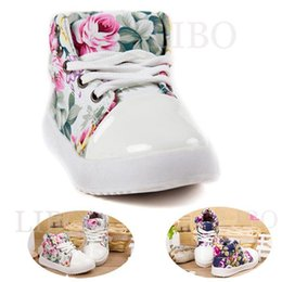 Wholesale Canvas Flower Korean Shoes - 2015 spring autumn new fashion girls children's floral shoes casual soft canvas Korean flower princess shoes