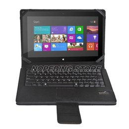 Wholesale Surface Rt Cases - Wholesale-BT Keyboard Case Touchpad for Microsoft Surface RT Pro Windows 8 Tab