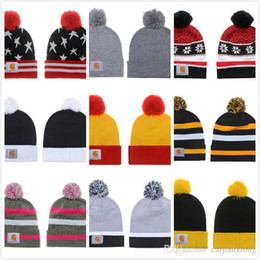 Wholesale Yellow Beanie Hats - New Fashion 2016 Winter warm Hip Hop Skullies Diamond Beanie Knitted Hat man women cap