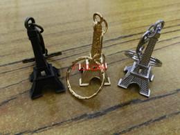2019 torre eiffel livre 1000 pçs / lote Frete Grátis Retro Mini Decoração Torre Torre Eiffel Keychain, Paris Tour Eiffel Chaveiro Chaveiro Presente Da Lembrança do Anel torre eiffel livre barato