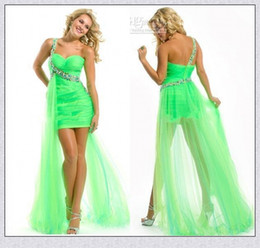 Lime Green Cocktail Dresses - Ocodea.com
