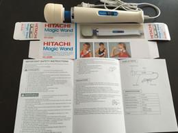 hitachi zauberstab eu Rabatt Hohe Qualität Hitachi Ganzkörper-Massagegerät HV-250R 110-240V Hitachi Magic Wand Massager AV-Vibrator Massagegerät US/EU/AU/UK-Stecker wählen Sie mit garagenboxen