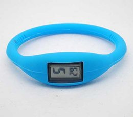 Wholesale Spike Watches - Spike silicone anion watch male and female students exam dedicated sports watch led digital watches children watch
