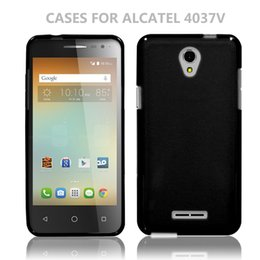 Wholesale Thin Cell Phones For Sale - Hot Sale Ultra Thin Soft TPU Protective Case Shockproof Cell Phone Case For Alcatel 4037V Material shell