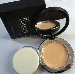 Wholesale Powder Creme - Mineral Touch Foundation Cream Pressed Powder Fond DE TEINT CREME Concealer Cream 0.46OZ 13g 10 Shades DHL Free