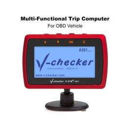 Argentina V-checker A501 Computadora de viaje OBD II Escáner Lector de códigos de fallas del motor del automóvil PUEDE la herramienta de diagnóstico de escaneo Suministro