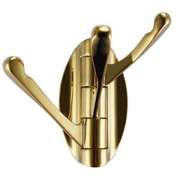 Wholesale Unique Door - 2016 Wholesale Luxurious Golden Unique Design Robe Hook Door Coat Hanger
