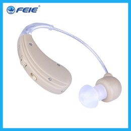 Wholesale Rechargeable Sound Enhancement - Hearing aid new products medical devices cheap sound enhancement USB rechargeable hearing aid S-109S two piece hearing amplifers