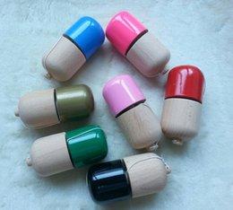Venda de brinquedos de páscoa on-line-11 * 5 cm fábrica de jogos customes vendas barato preço de madeira kendama pílula brinquedo bola presentes de Páscoa ovos Kendamas