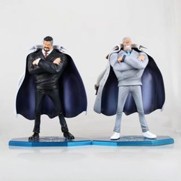 Wholesale Product Marine - 25cm Anime One Piece Marine Hero Vice Admiral Monkey D. Garp PVC Action Figure Collection Model Toys Doll