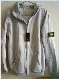 Wholesale Cheap Hoodie Jackets - 2211017 STONE MEN COAT HOODIES ISLAND JACKET Cheap women's hoodies cheap new sweatshirts
