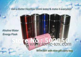 Wholesale Nano Alkaline Water Flask - Wholesale-3pcs Energy nano alkaline water flask and 1pcs PH tester