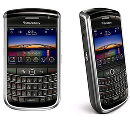 2021 entriegelte 3g wifi smartphones 9630 Original Unlocked Blackberry Tour 9630 Bluetooth WIFI 3G 2,4 Zoll Bildschirm 3.15MP Kamera renoviertes Smartphone