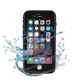 Wholesale I Phones Cases - Hight quality Waterproof phone case For iPhone 6 7 6s 7s Plus life Water proof case Shockproof Dirt Proof phone Cases for i phone 6G cover