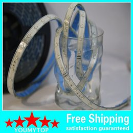 Wholesale Led Strips For Swimming Pools - Silicone+ Epoxy injection IP68 Waterproof 300LEDS 5M Roll RGB LED Strip 3528 SMD LED Ribbon Light 60led m For Swimming pool