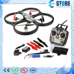 Wholesale Monitor Hd Fpv - WLtoys V666 5.8G FPV 6 Axis 4CH RC Big Quadrocopter Drone w  2.0MP HD Camera and Monitor RTF