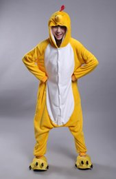 Wholesale Man S Cotton Pajamas - Latest Cool Zodiac Adults Chicken Chook Onesie Anime Cosplay Costumes Unisex Women Men Pajamas