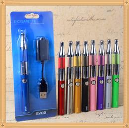 Coloré EVOD Starter Kit Mini protank avec 650/900 / 1100mah evod batterie avec e cigarette blister cas cigarettes électroniques e cig eigs kit ? partir de fabricateur