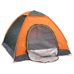 Wholesale Foldable Sunshade - Wholesale- 3-4 Persons Camping Tent Beach Sunshade Waterproof Foldable Anti-UV Sun Shelter quick Automatic open Travel Hiking tents