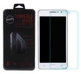 Wholesale Retail Screen - Tempered Glass Screen Protectors With Retail package 2.5D 0.3MM 9H For Samsung Galaxy Grand Prime G530 Core G360 A3 A5 A7 A8 E5 Note 5 S6
