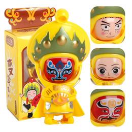 Wholesale Tourist Souvenir Gift - 2017 Funny Gadgets Facial Makeup Face Doll for Creative Peking Opera Toys Folk Small Gift Sichuan Tourist Souvenirs Chinese Characteristics