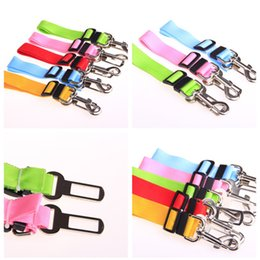 Wholesale Retractable Belt Dog Leash - Pet Car Seat Belts Dog Safety Rope Car Traction Rope Retractable Car Traction Dog Chain Teddy Supplies Dog Collars Leashes