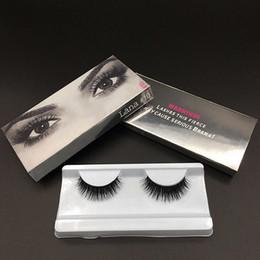 Wholesale Plastic Hd - High Quality Eye Makeup High-grade fiber 3d mink false eyelashes HD Brand lashes Handmade Natural Long Thick Copy mink lashes DHL Free