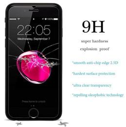 Verre Trempé Pour Iphone 8 7 6S Plus X 5S Ipod Touch 6 5 Film Protecteur D'écran 9H Anti Scratch 2.5D 0.26MM Temper Glass Guard 2018 VENTE ? partir de fabricateur