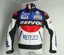 Wholesale Duhan Motorcycles Jacket - Free shipping DUHAN REPSOL oxford cloth racing jacket Moto GP motorcycle jacket