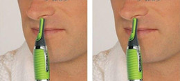 Wholesale Neck Trimmer - New 2014 All In One Nose Ear Neck Nasal Eyebrow Sideburns Hair Trimmer Clipper