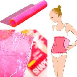 Wholesale Slim Belt Burner - Sauna shaper Slimming body wraps waist belt fat loss Weight Tummy Belly Waist Shaper Burner Super-elastic