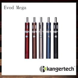 Wholesale Mega Batteries - Kanger Evod Mega Kit Kangertech Evod Mega E-cigarette Starter Kits With 2.5ml Atomizer 1900 mAh Battery 100% Original