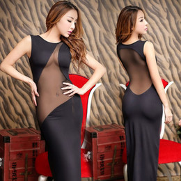 Wholesale Evening Dresses Factory Sale - Mei fire evening dress brand new high quality hot sexy lingerie ultimate temptation Halter factory direct sales