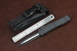 Canada 6 modèles Micro Fourmi Noir Double Bord 440 Lame outil de camping outil de poche couteau de survie couteaux avec sac en nylon 3300 Scarabée supplier edge models Offre