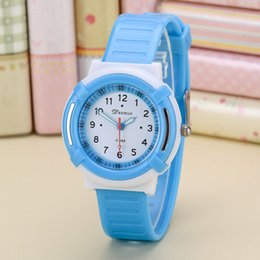 Wholesale Korean Cute Watch - 2017 middle school students watch men and women electronic Korean version, children cute boys and girls waterproof simple watch