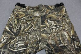 Wholesale Realtree Camo Clothes - Wholesale-NEW Realtree Camouflage Flame Retardant Clothing Men Hunting Camo Pants for Outdoor