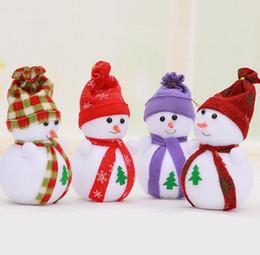 Wholesale Snowman Ornaments Sale - 2015 new arrival sale J19 Super Meng Christmas snowman doll doll ornaments Desktop Christmas stockings Festive