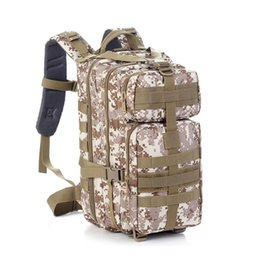Wholesale Military Tactical Rucksack Backpack - Hiking Camping Bag Army Military Tactical Trekking Rucksack Outdoor Sports Camouflage Bag Military Tactical Backpack Free freight