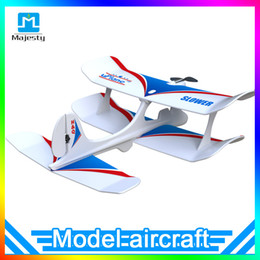 Wholesale Remote Control Planes Kids - Majesty Masterpiece Aircraft Uplane Bluetooth 4.0 Mobile Phone Gravity Sensing Remote Control Airplane Model Mini Fixed-wing Plane