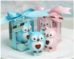 Wholesale Candle Souvenirs Birthday - 2015 New personalized wedding favors and gifts for guests souvenirs Baby shower birthday part owl candle