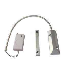 Fenêtre sans fil en métal / porte senor obturateur Gates Auto Dial Capteur magnétique pour GSM / PSTN système d'alarme Accessoires d'alarme ? partir de fabricateur