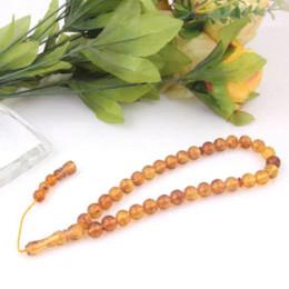 Bernstein perlen armband online-Natürliche Bernsteinperlen Mode Halbedelstein Armband Vintage Afrikanische Perlen Schmuck Heißer Verkauf Natürliche Bernsteinperlen Heißer Verkauf
