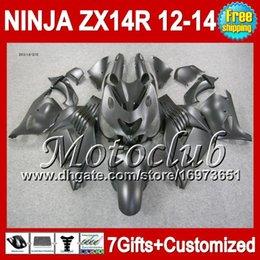 7grados para KAWASAKI NINJA ZX14R 12-13 Negro plano ZX-14R 25C30 ZX 14R 12 13 12 13 ZX14 R Mate negro 2012 2013 2012 2013 ZX 14 R Carenado desde fabricantes