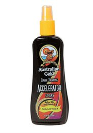 Wholesale Australian Gold Tanning - Wholesale-Australian Gold DARK TANNING ACCELERATOR Sunbed Spray Non Tingle No Bronzers Sunbed Cream Lotion For Solarium Use Only Indoor