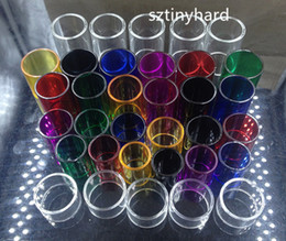 Wholesale Spiral Glass Tube - Pyrex Replacement glass tubes for Smok nano tfv4 Spirals plus vape pen 22 plus brit beast mini flavor minos sub tank Skyhook RDTA