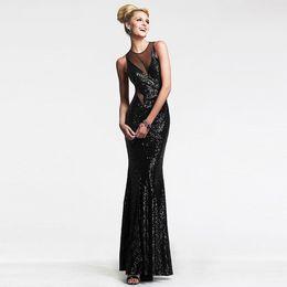 4fb9349859e2e Вечерние платья магазины онлайн-2018 европейская станция сексуальная грудь  завернутый сетки сплайсинга вечернее платье спинки