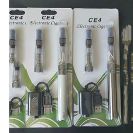 Wholesale Ego Mix - eGo CE4 Blister Kits eGo-T Battery 650mah 900mah 1100mah Electronic Cigarette E Cig Kits CE4 Clearomizer e cig mixed Colors